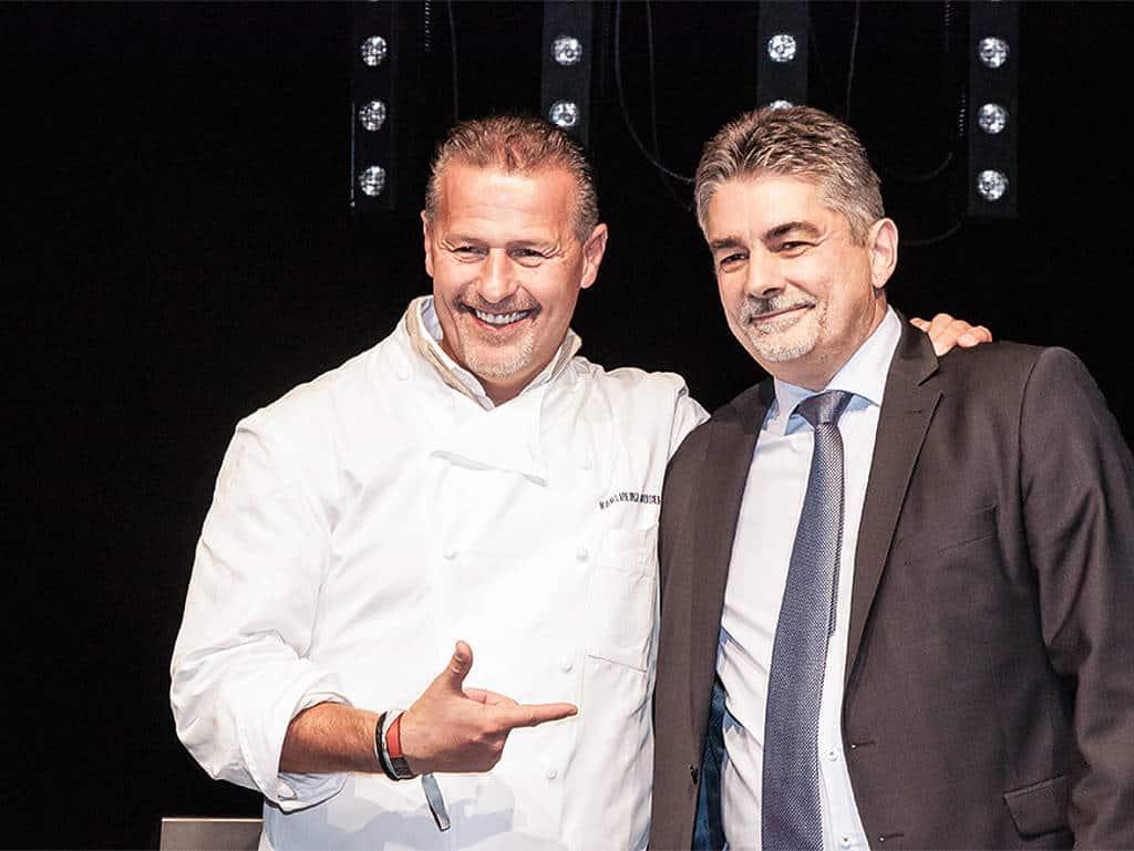 Dream-Team: Karlheinz Hauser und Reinhardt Hanusch