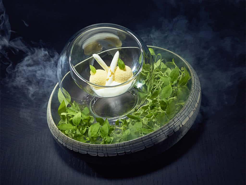 Yuzu – Miso-Ganache – weiße Schokolade –Joghurt
