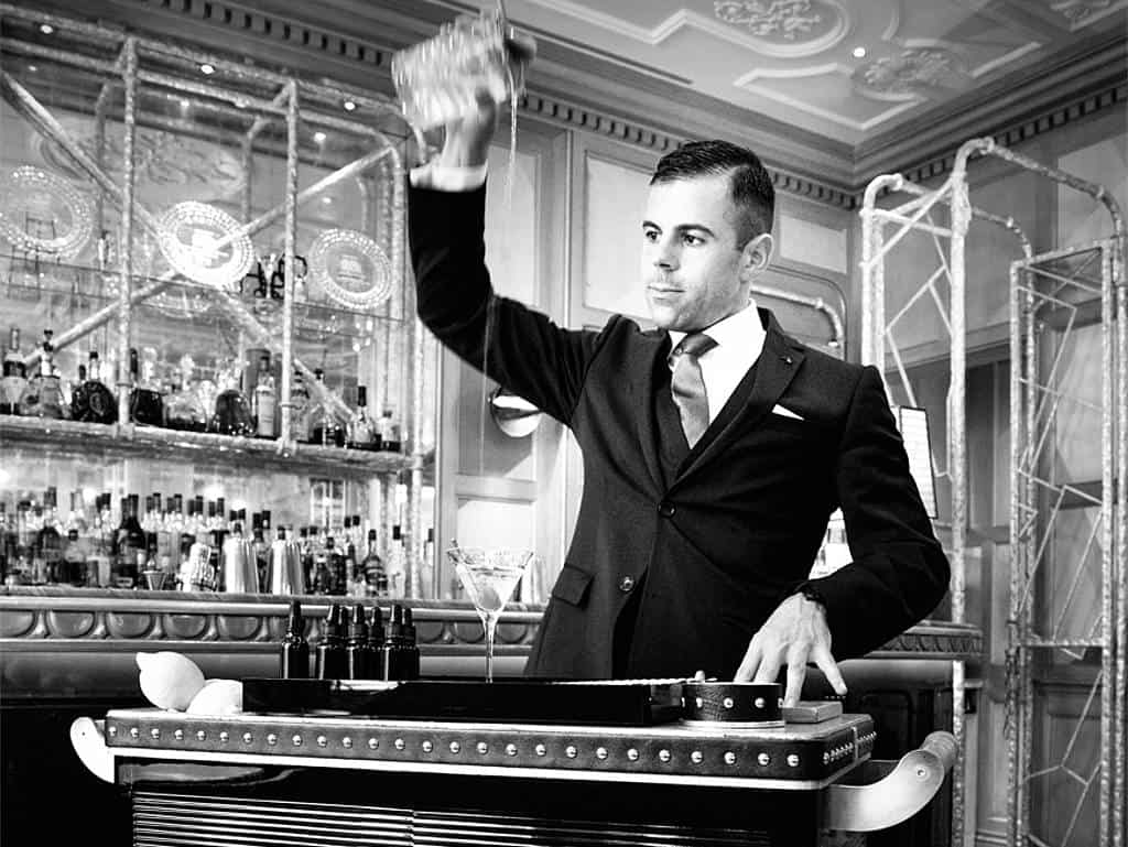 The Connaught Bar, Agostino Perrone, Martini-Trolley