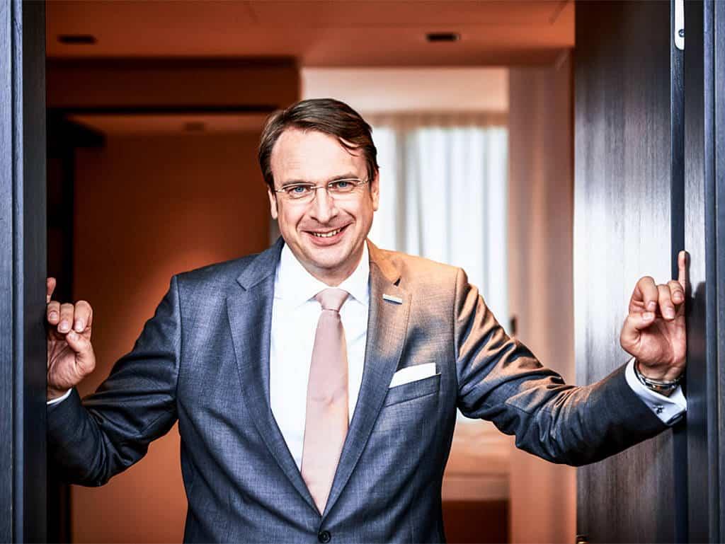 Einer der Partner: Alexander Aisenbrey