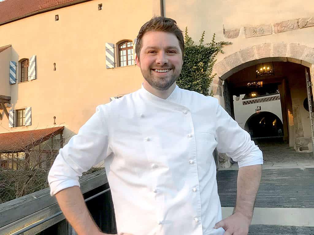 Burg Wernberg: Robert Morgan ist neuer Küchenchef