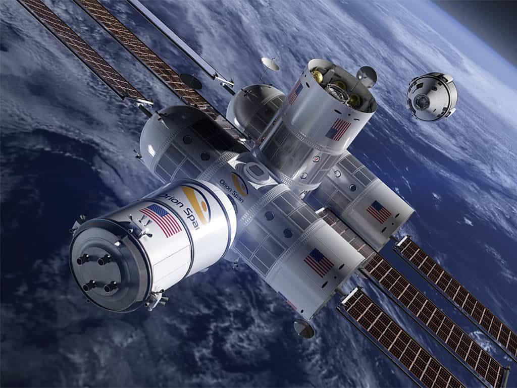Orion Span, Aurora Station, Weltraumhotel