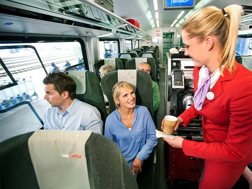 Streit um Catering im Zug