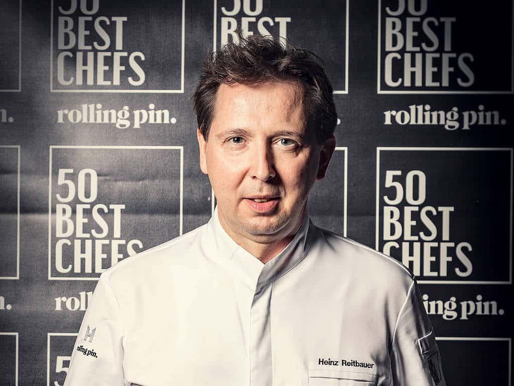 Die Nummer eins der Austria´s 50 best Chefs Heinz reitbauer