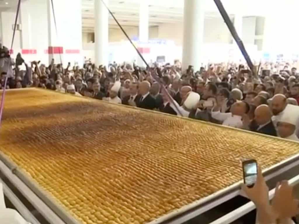 das weltgrößte baklava