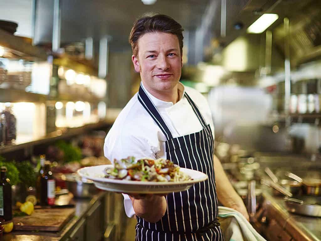Jamie Oliver erfolgreich in Wien.