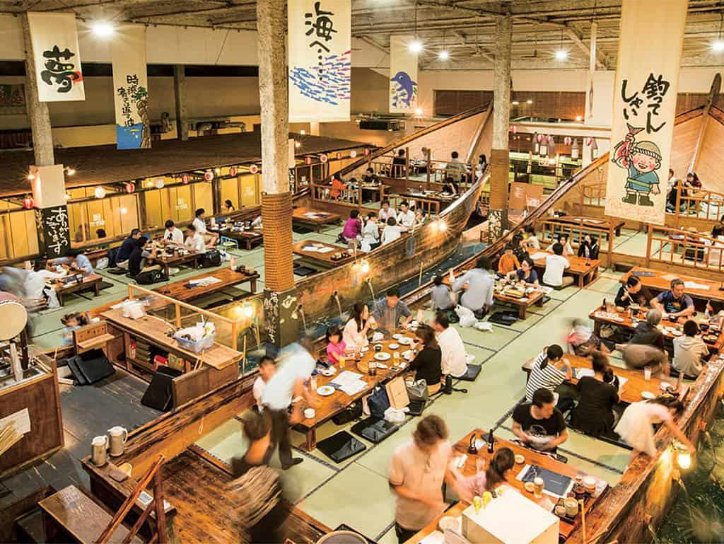 Restaurant Zauo: Fangfrisch auf den Tisch