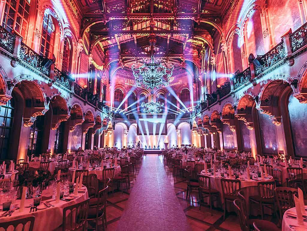 Vineus 2018 Festsaal