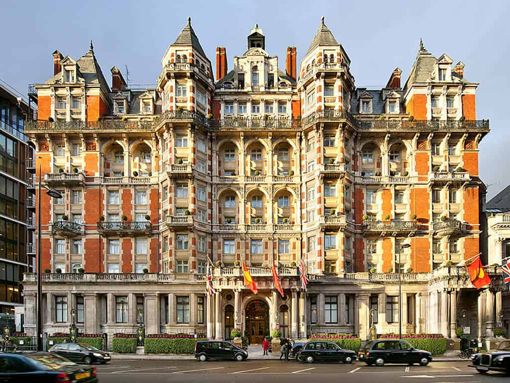 Edle Fassade: das Mandarin Oriental in London.