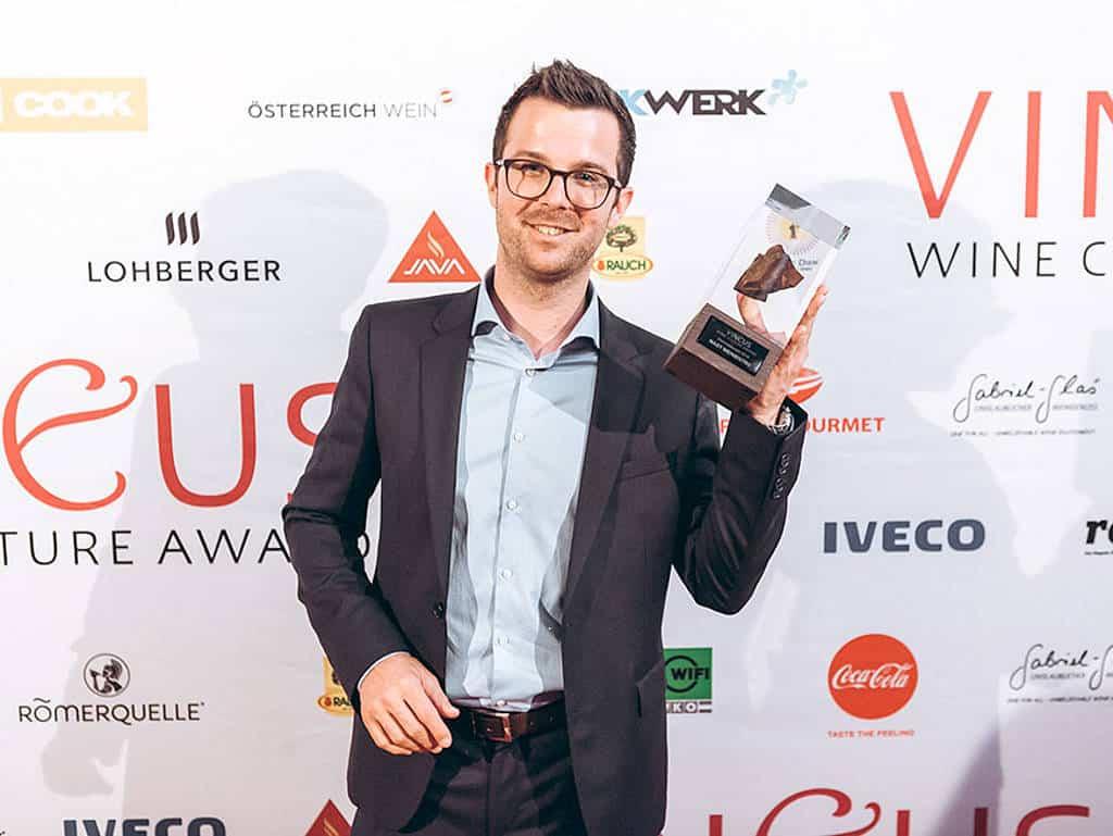 Matthias Pitra wurde Sommelier des Jahres