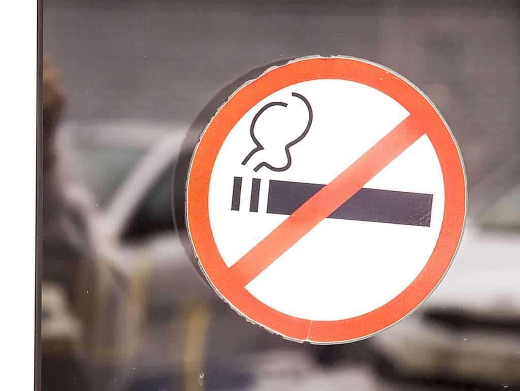 Rauchverbot aufgehoben