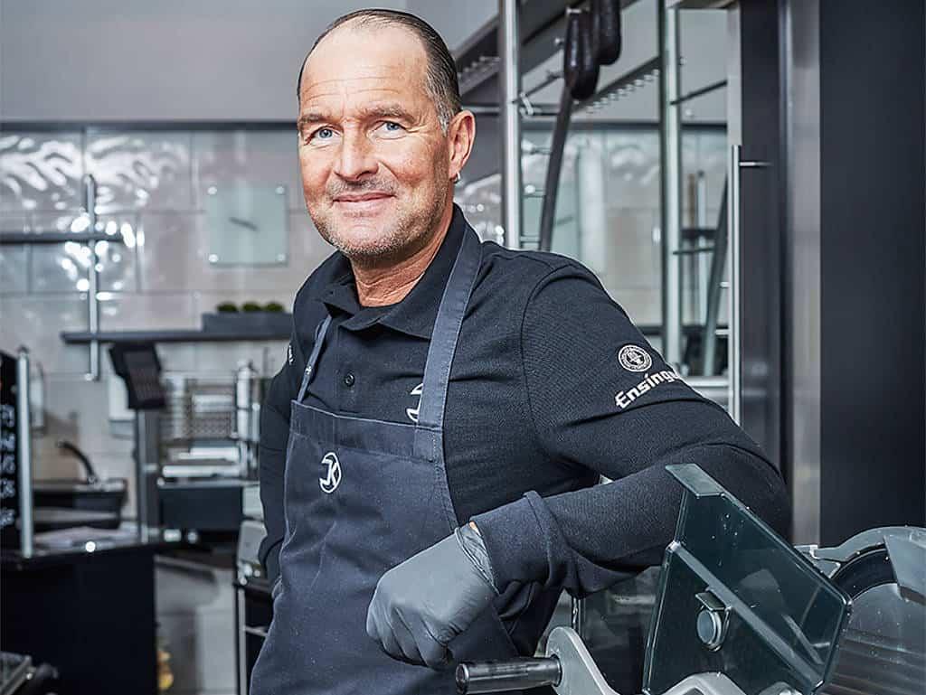 Mark Krämer ist Geschäftsführer der Metzgerei Krautter in Vaihingen an der Enz und stolzer Besitzer der M-iClean H.