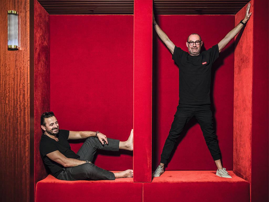 Alex Urseanu und Micky Rosen