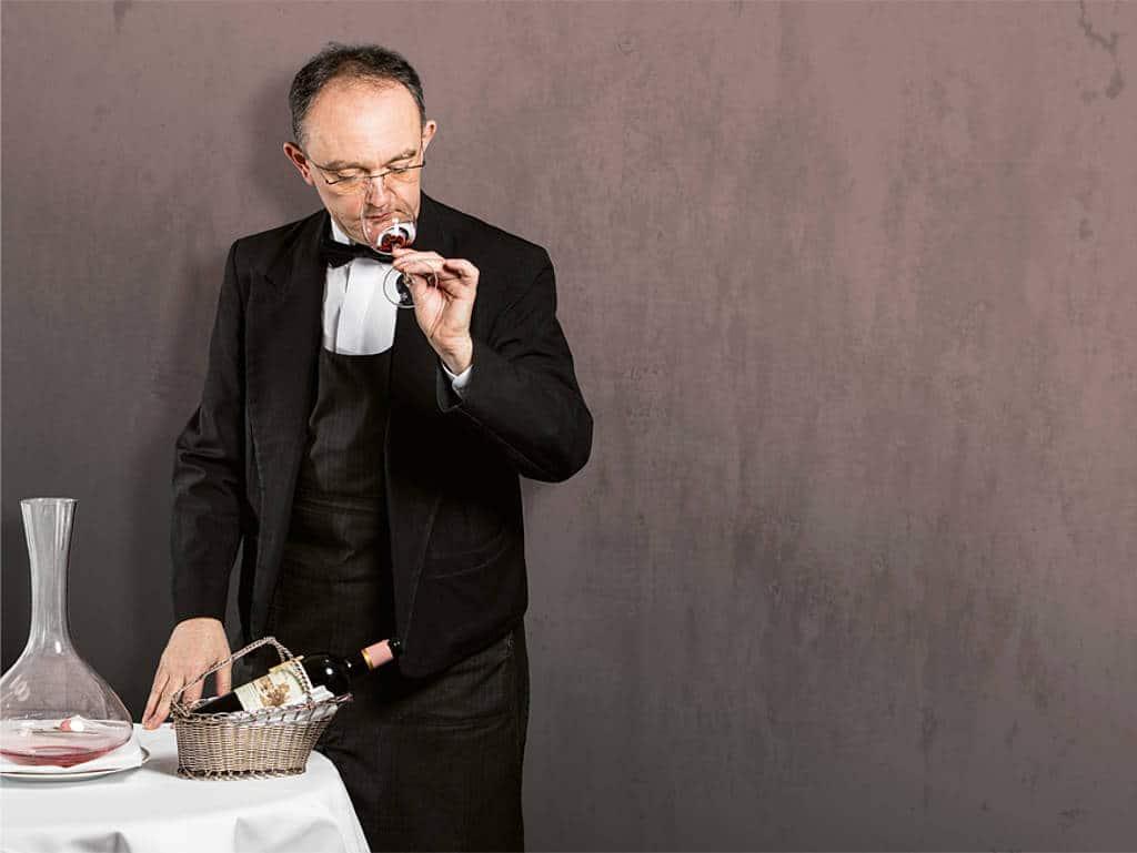 Stephane Thuriot hat den richtigen Riecher für guten Wein.