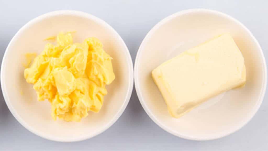 Butter, Margarine
