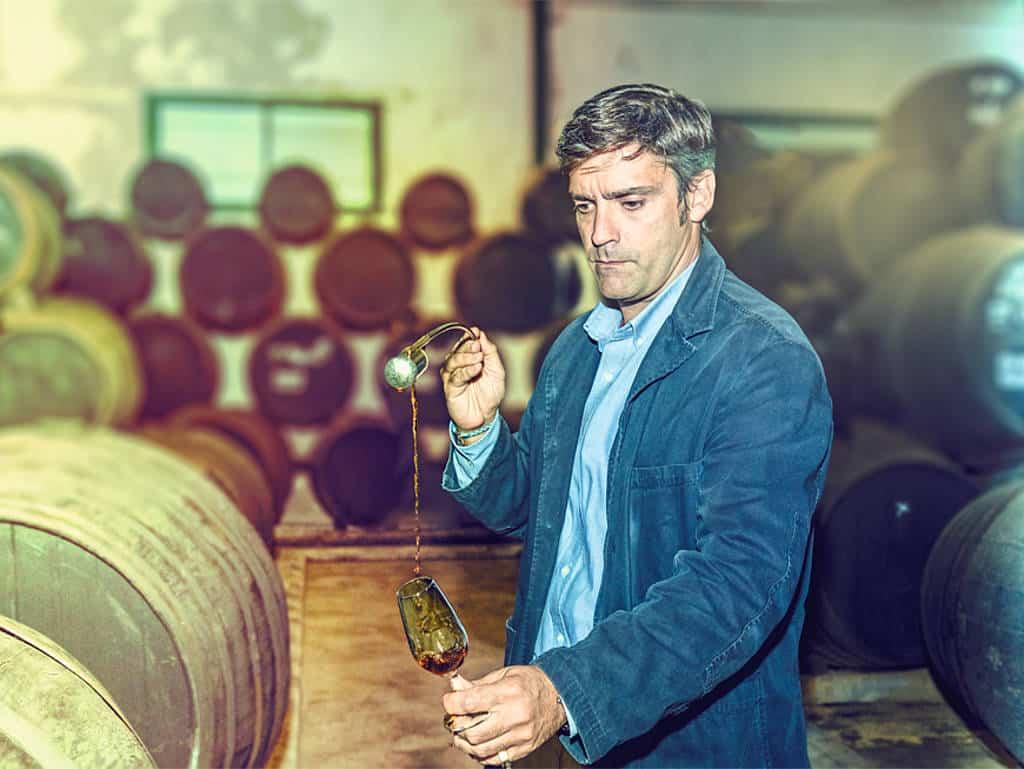 Perfektion im Fass: Essig-König Joaquín Gómez Beser produziert jährlich im spanischen Jerez 800.000 Liter seines weltberühmten Essigs.