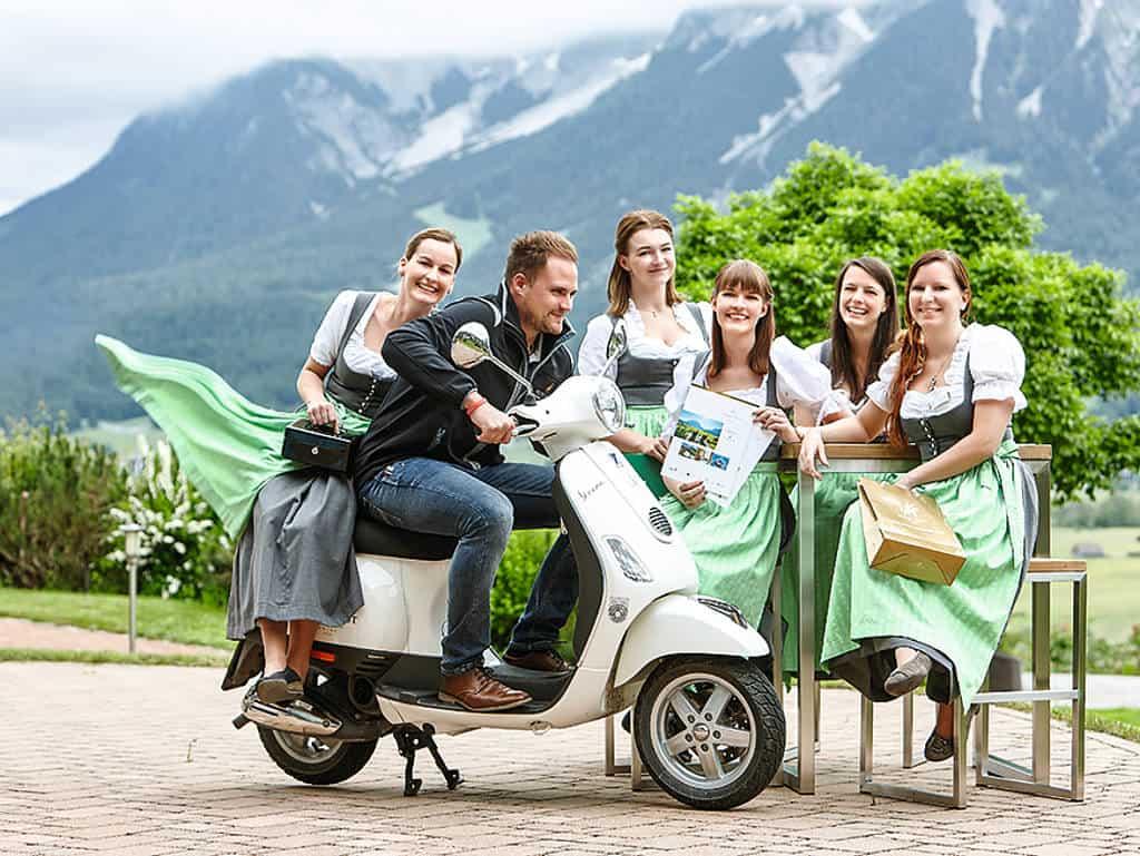 Mit Vollgas in die berufliche Karriere: Als Mitarbeiter der Best Alpine Wellness Hotels hat man viele Möglichkeiten