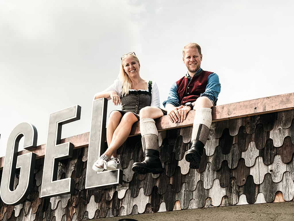 Elke Zimmermann und Gerold Mattersberger