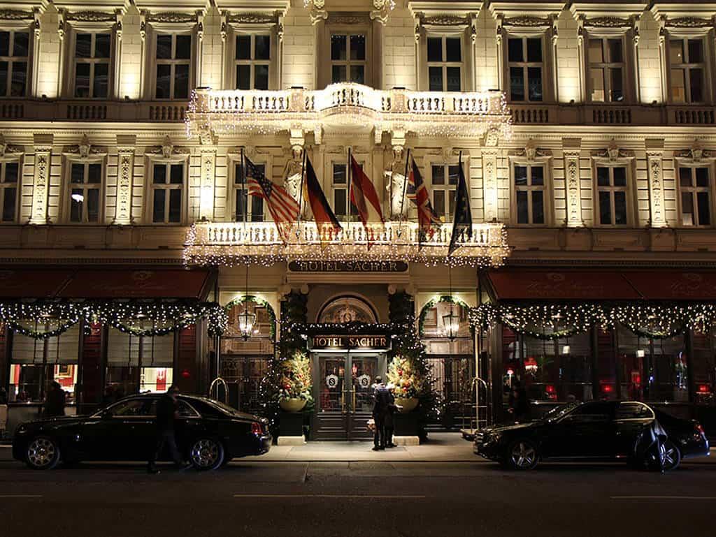 Hotel Sacher hat jetzt schusssichere Suiten