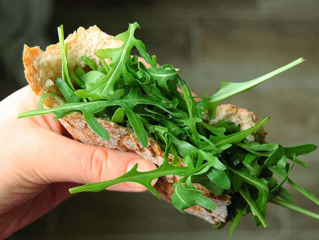 Fleisch in veganem Essen