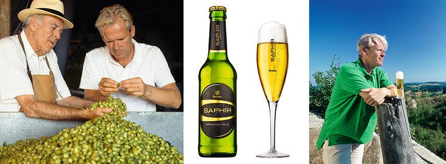 Premium-Pils Saphir von Zwettler