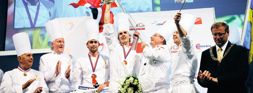 Das Siegerteam des Bocuse d'Or