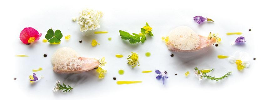 Die Blüten der Kochkunst