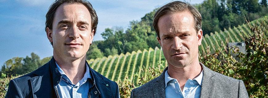 Weinexperte Thomas Greisberger