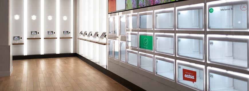 Roboter-Restaurant Eatsa - Kunden haben keinerlei Kontakt zu den Angestellten