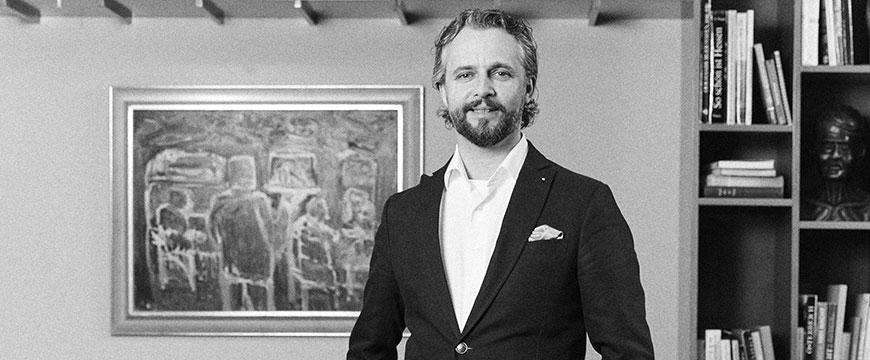 Eckart Buss leitet die Expansionsprojekte von Henri Hotels