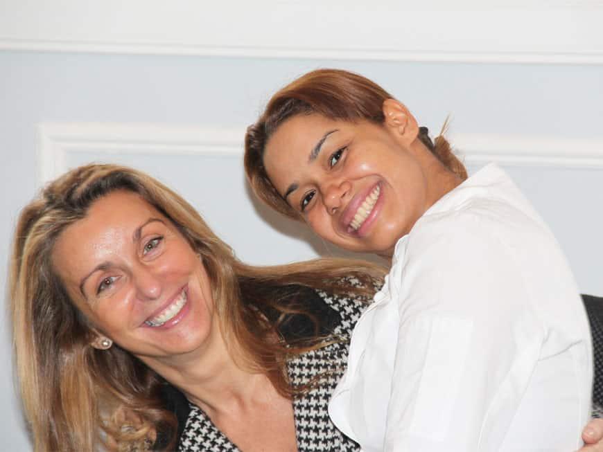 María Marte und Luisa Orlando