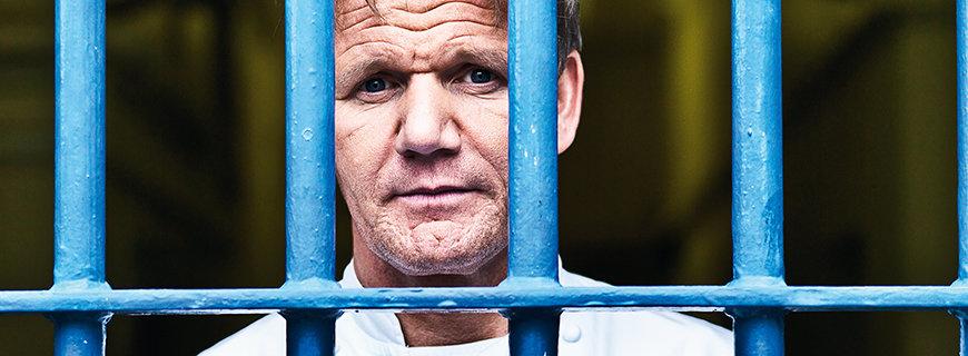 Gordon Ramsay hinter Gittern