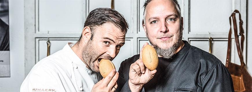 Oliver Scheiblauer und Christoph Brand