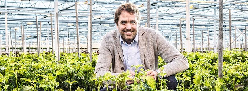 Der Kresse-Experte Marc Bonsmann