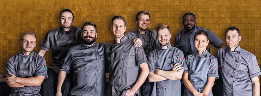 Team des 2-Sterne-Restaurants Facil