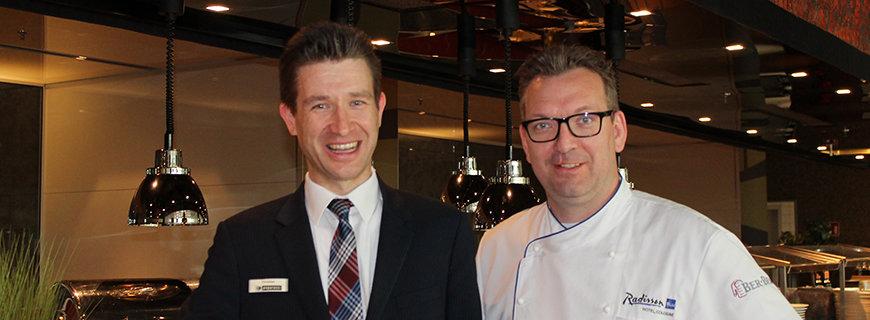 Christian Poltersdorf und André Faupel
