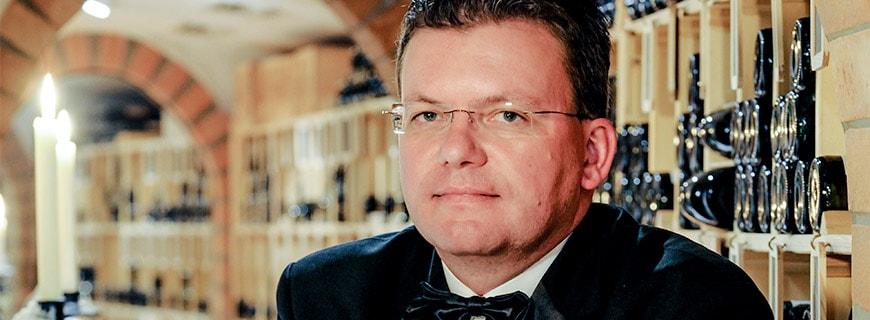 Chef-Sommelier Jürgen Fendt