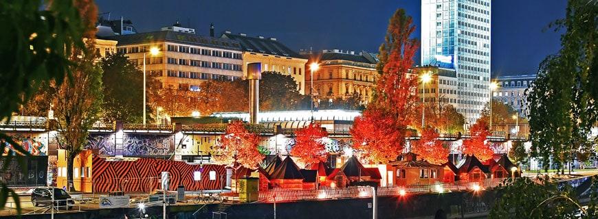 Feuerdorf, Wiener Donaukanal