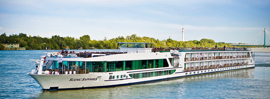 die Flotte der Scenic Cruises