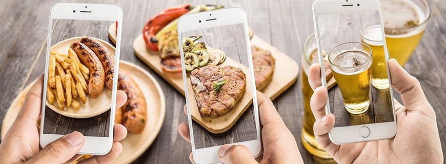essen in der digitalen welt