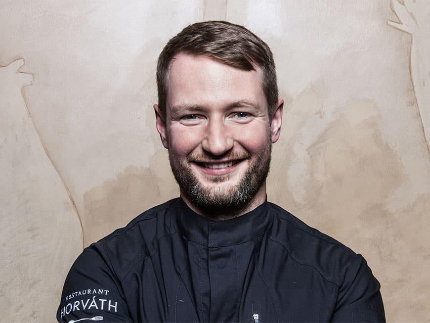 """Nominiert für den Berliner Meisterkoch 2017: Sebastian Frank, """"Restaurant Horváth"""""""