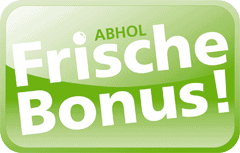 Frische Bonus Button