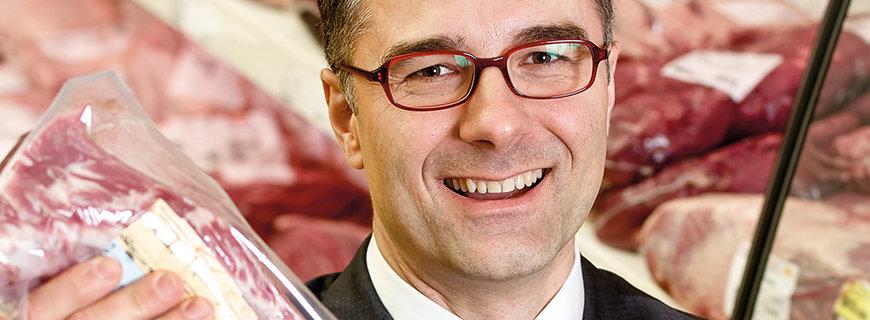 Frischfleisch-Spezialist Christof Kastner
