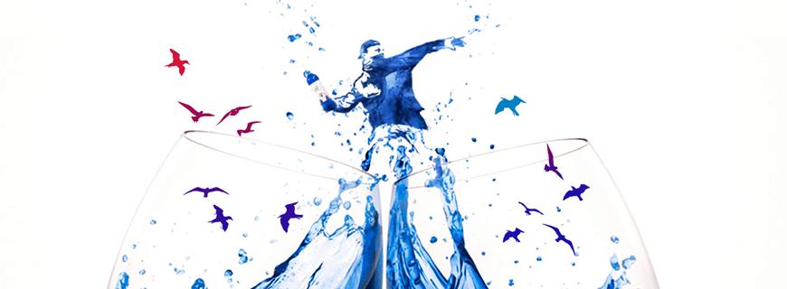 Blauer Wein Artwork