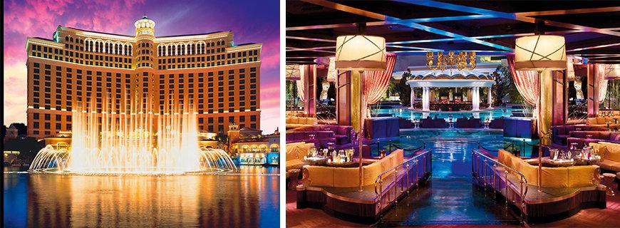 Job-Glücksrad in Las Vegas