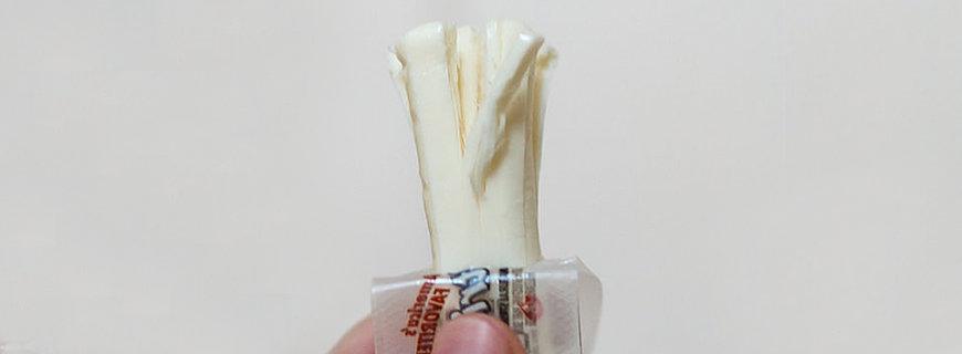 Käse mit Kaugummi-Geschmack