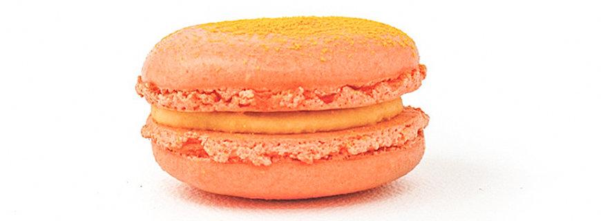 Macarons mit Käsebällchen-Aroma