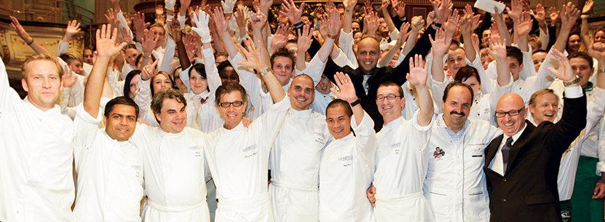 ein Gruppenfoto des Gourmetreisefestival 2009