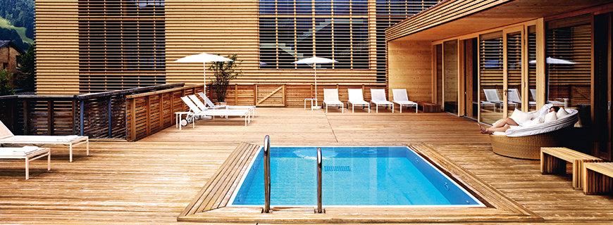 luxuriöse Nachhaltigkeit in Top Hotels