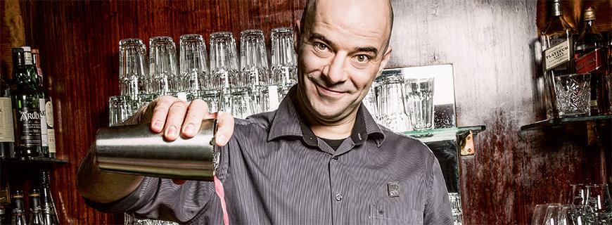Barchef Milen Milkov aus der Loos Bar